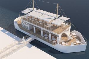 Afacere superba -- Restaurant plutitor de 230 mp.