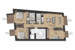 Apartament 4 camere, Eminescu (Stefan cel Mare)