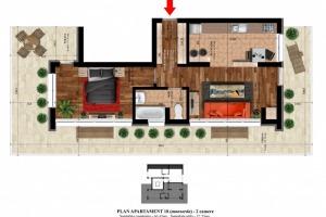 Apartament cu 2 camere în zona Alexandriei
