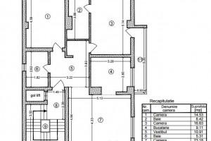 Apartament 3 camere de vanzare - zona Floreasca