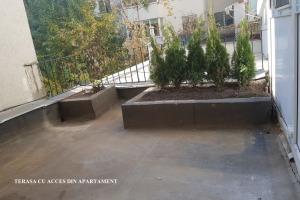 Apartament in Piata Amzei+ terasa 20mp,FARA RISC SEISMIC
