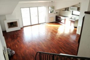 Apartament vast 2 camere, open space utilat, terasa, bloc inedit