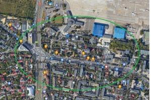 Baneasa-mall! Teren supraf 1822 mp cu posibilitate de extindere
