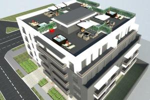 Bucurestii Noi-2 Cocosi, teren 1100 mpcu autorizatie 30 de apartamente