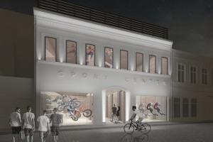 Centru Istoric - Spatiu comercial de 1.100 mp utili, 18.100 euro/luna.