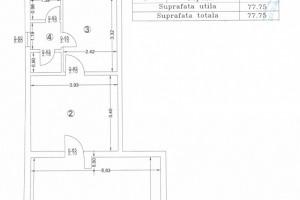 Spațiu comercial de 81mp în zona Zetarilor.