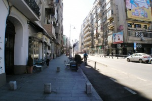 Spatiu Calea Victoriei stradal magazine de lux