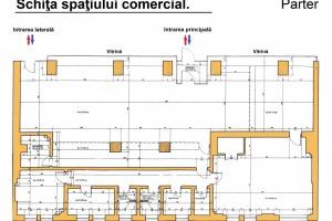 Spatiu comercial generos, de 405mp utili, in zona Nicolae Titulescu.