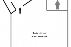 Spatiu comercial ultracentral de 60mp suprafata utila.