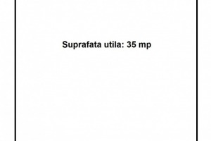 Spatiu comercial ultracentral: SU=35mp, Vitrina=4.5ml.