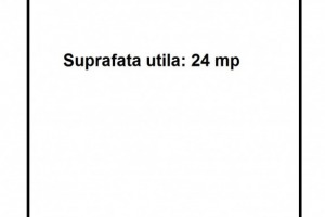Spatiu comercial ultracentral: SU=24mp, Vitrina=3.5ml.