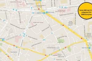 Teren 700 mp Piata Romana D 27
