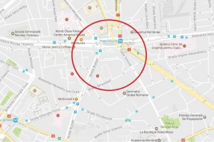 Vanzare spatiu de birouri 307mp pe nivel Piata Victoriei