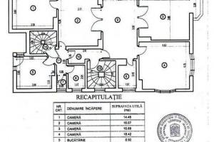 Victoriei , I.G. Duca apartament in Vila ,5 cam  1000Eur Hparter